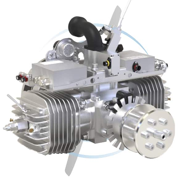 SP-210-HF-FI-TS UAV Engine
