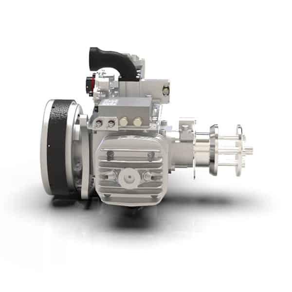 SP-210 Twin Cylinder Gas-Engine