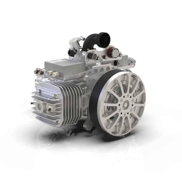 SP-210-series 2-Cylinder Gas-Engine