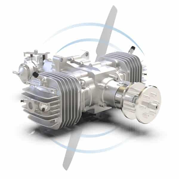 SP-275 TS CR 2-Cylinder Gas UAV Engine
