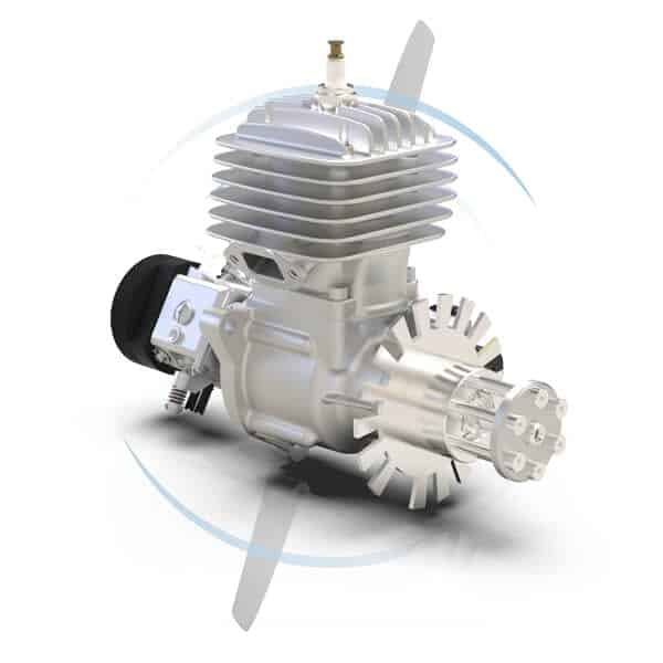 SP-28 Single-Cylinder Gas UAV Engine