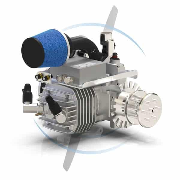 SP-55 FI TS ROS compact 1-cylinder UAV engine
