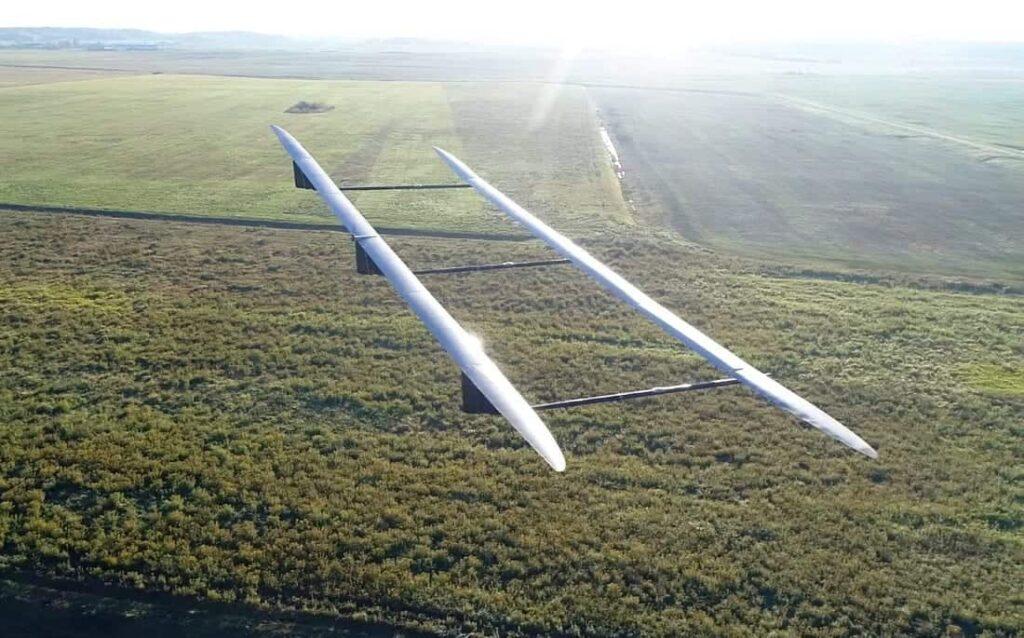 UAVOS ApusDuo high-altitude UAV
