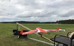 Catapult launched Fixed-Wing UAV