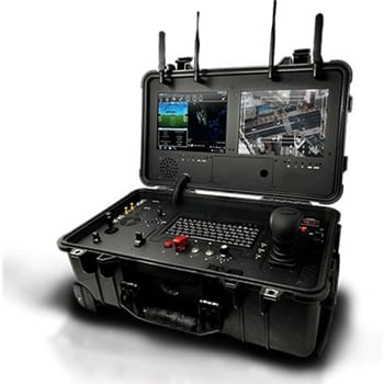 Dual Screen UAV Ground Control Station