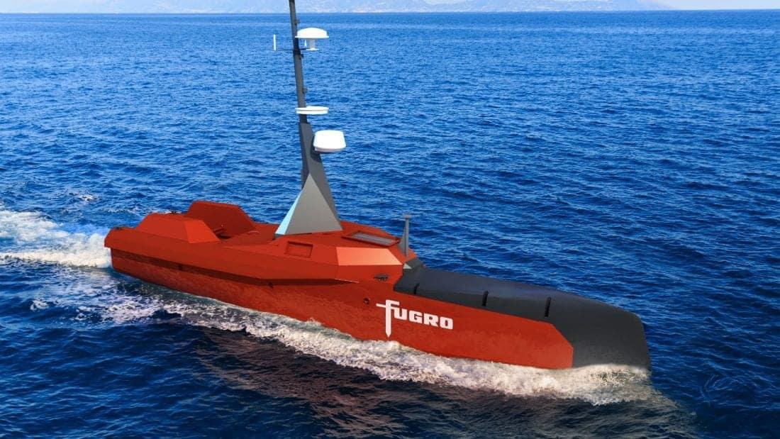 Fugro and L3 ASV unmanned vessel
