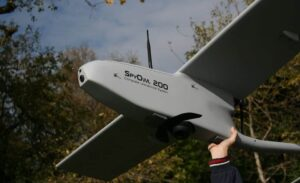 Hand launched Fixed-Wing UAV