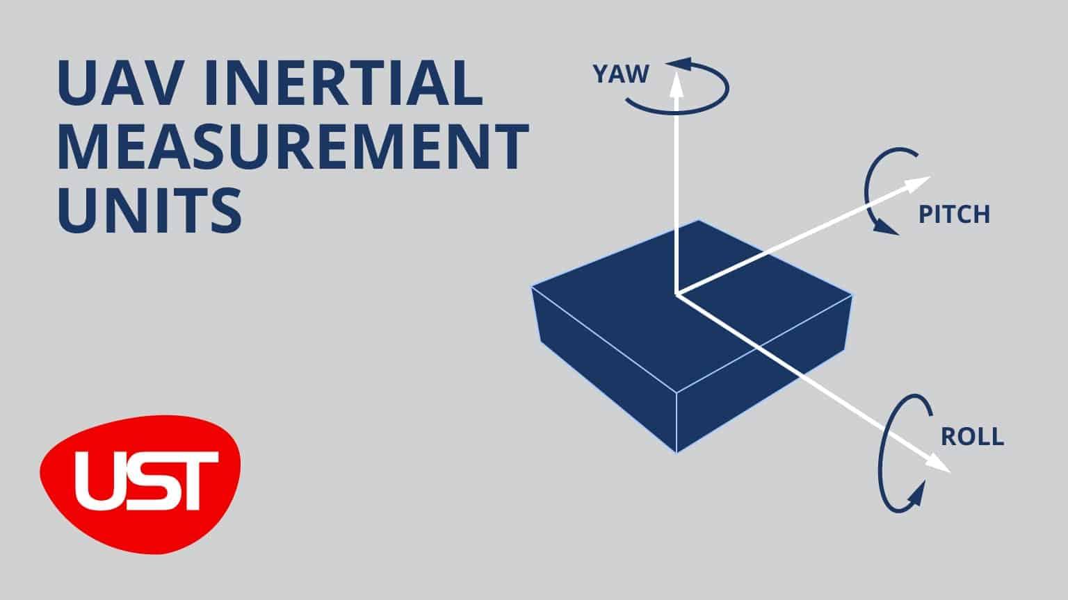 IMUs for UAVs