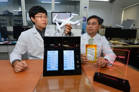 KIST new lithium metal battery