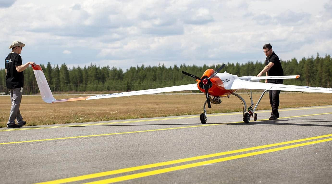 Long Endurance Fixed-Wing UAV