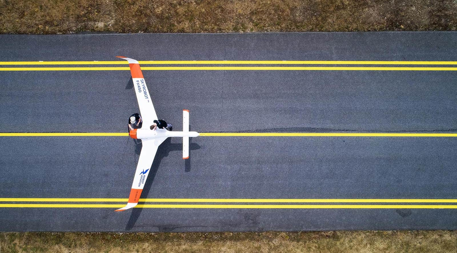 Long endurance BVLOS fixed wing drone