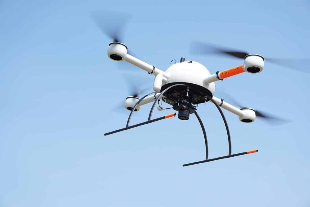 Microdrones mapping drone