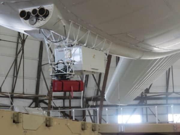 Radar system on unmanned aerostat