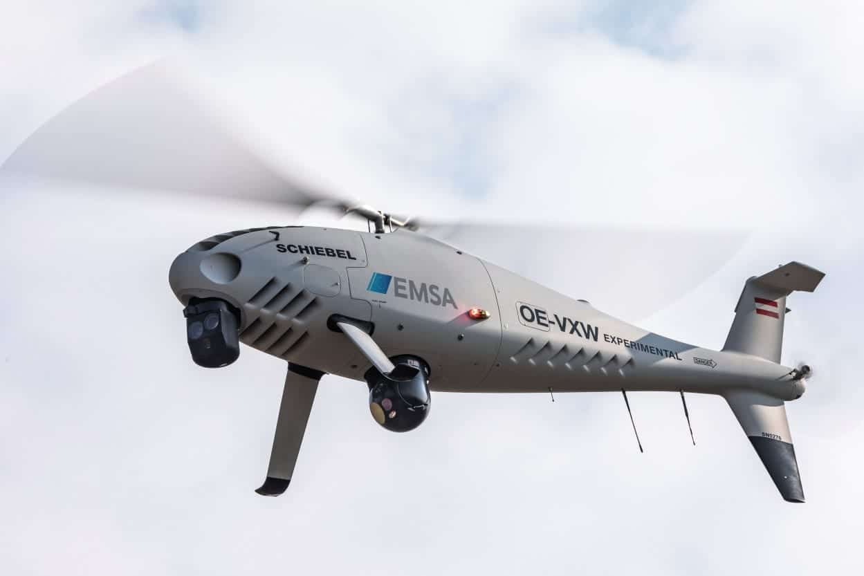 Camcopter S 100 Uas To Provide European Maritime