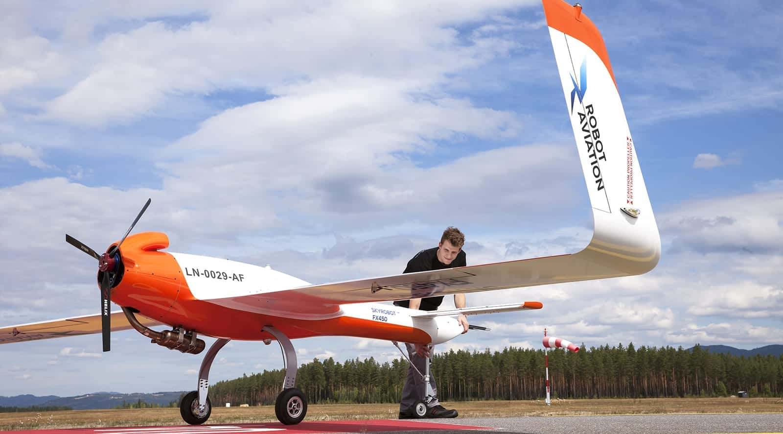 SkyRobot FX450 Fixed Wing UAV