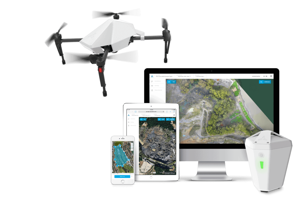 Skycatch Edge1 drone base station