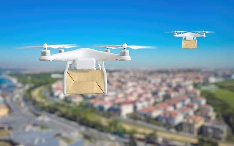 Urban drone delivery