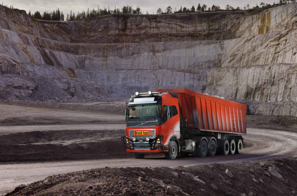 Volvo autonomous truck