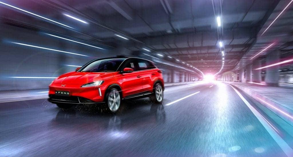 XPeng Motors autonomous car