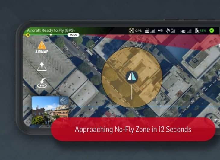 AirMap Real-Time Geofencing Alerts