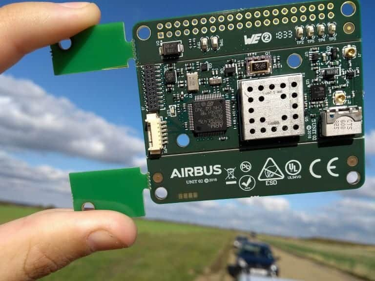 Airbus drone detection device