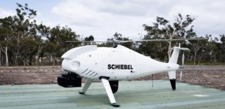 CAMCOPTER S-100 UAS with payloads