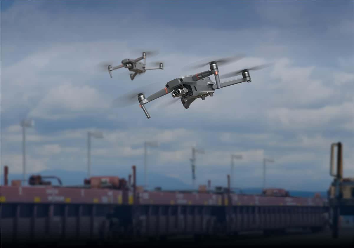 Dji Mavic 2 Drone Integrates Flir Thermal Imaging