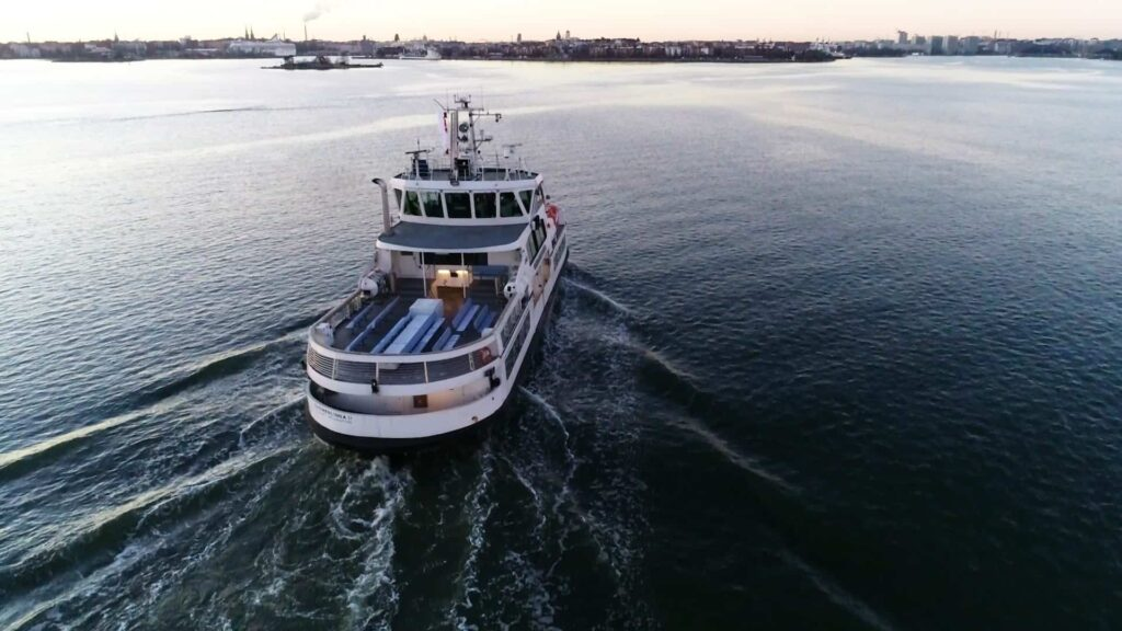 Finland unmanned passenger ferry