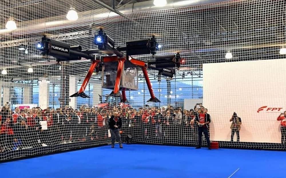 Forvola megadrone world record