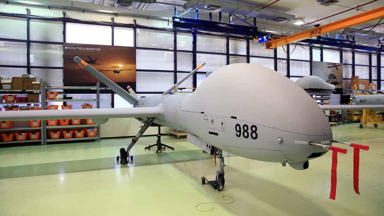 Hermes 900 UAV