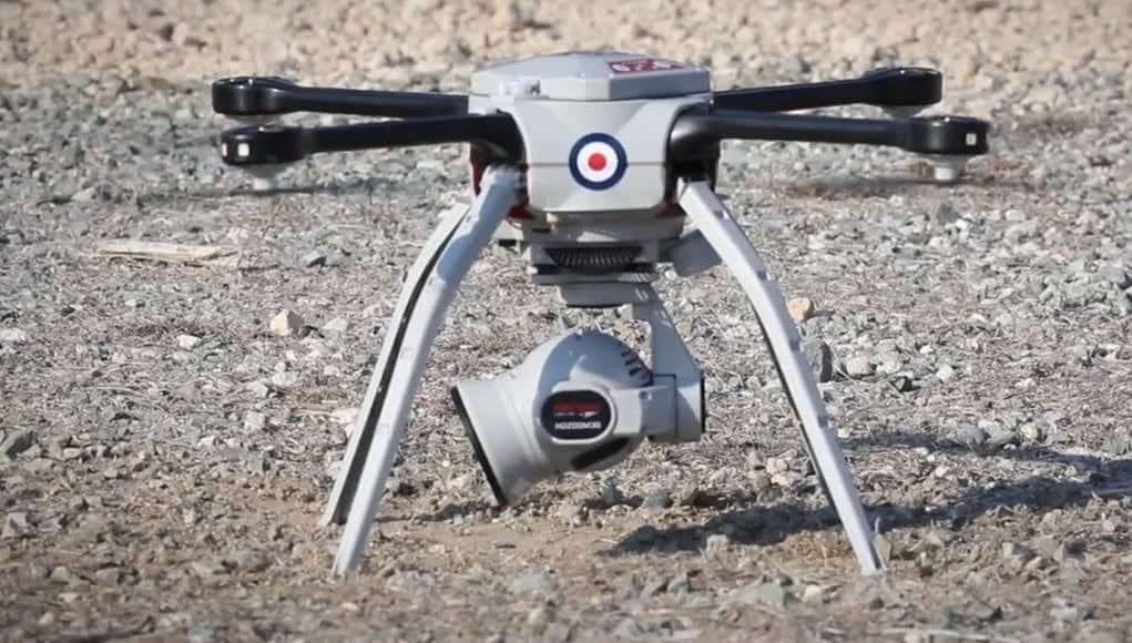 Royal Air Force Aeryon SkyRanger UAS