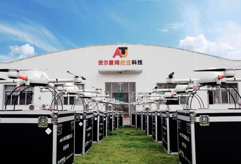 Aircam Microdrones UAV facility