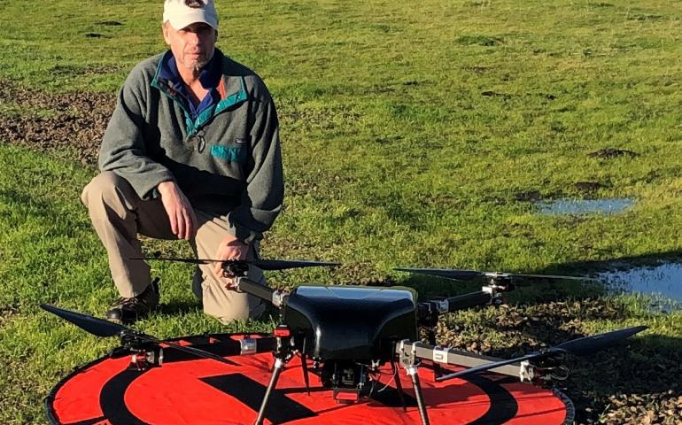 Alaska medical supply UAV