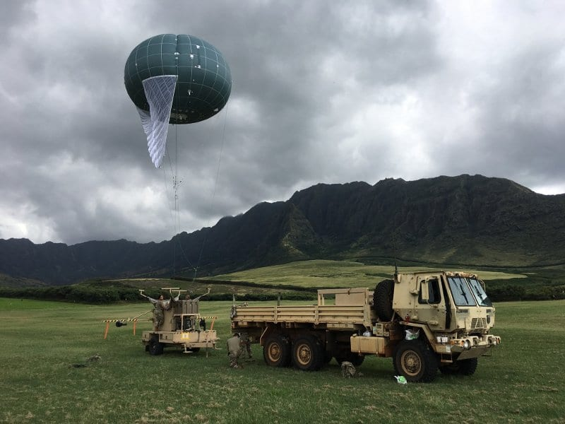 Drone Aviation WASP tactical aerostat