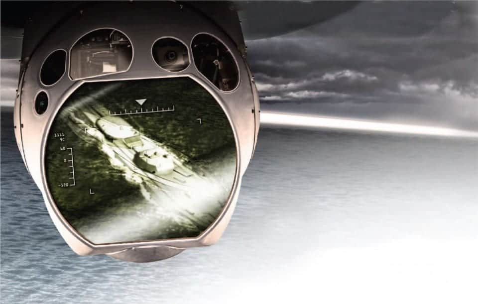 Elbit Systems laser targeting for UAVs