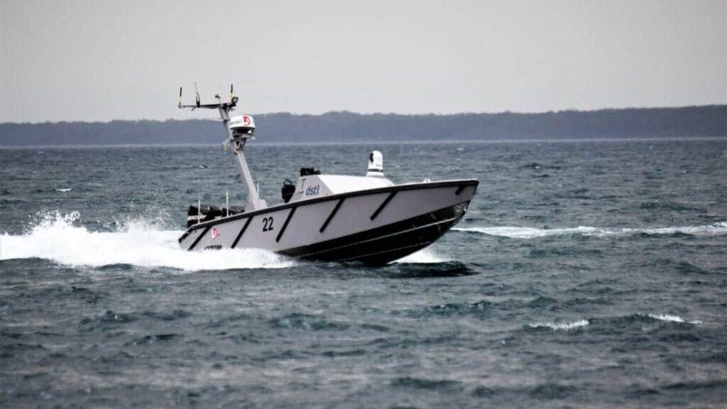 L3 ASV Autonomous Warrior USV