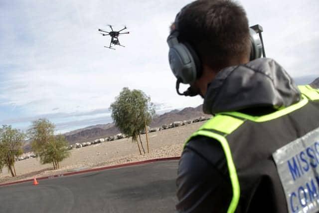 Nevada UAS test site