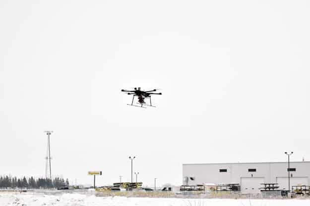 North Dakota UAS BVLOS testing