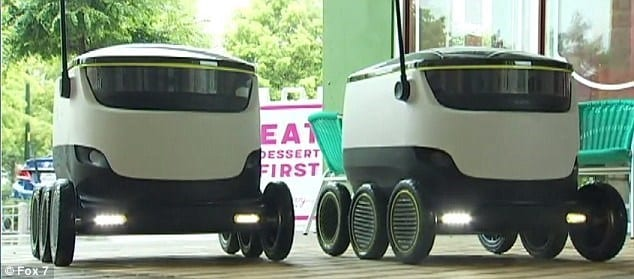 Sprint IoT autonomous vehicles