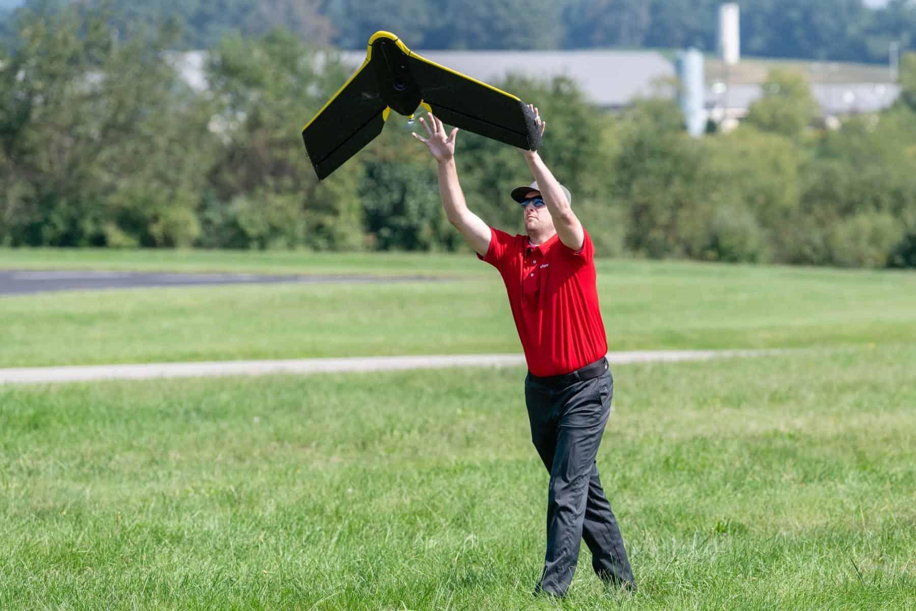 State Farm drone flight