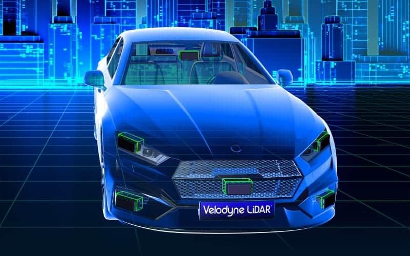 Velodyne LiDAR autonomous vehicle