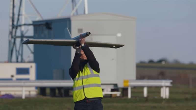 Cranfield BVLOS drone testing