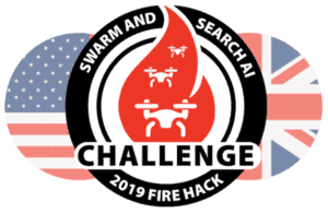 DSTL and US Air Force drone wildfire hackathon