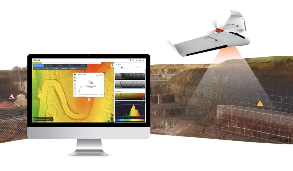 Delair aerial intelligence platform