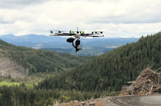 Drone Swarms to Reseed Oregon Rangelands | Unmanned Systems