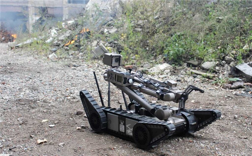 Endeavor Robotics unmanned ground vehicle