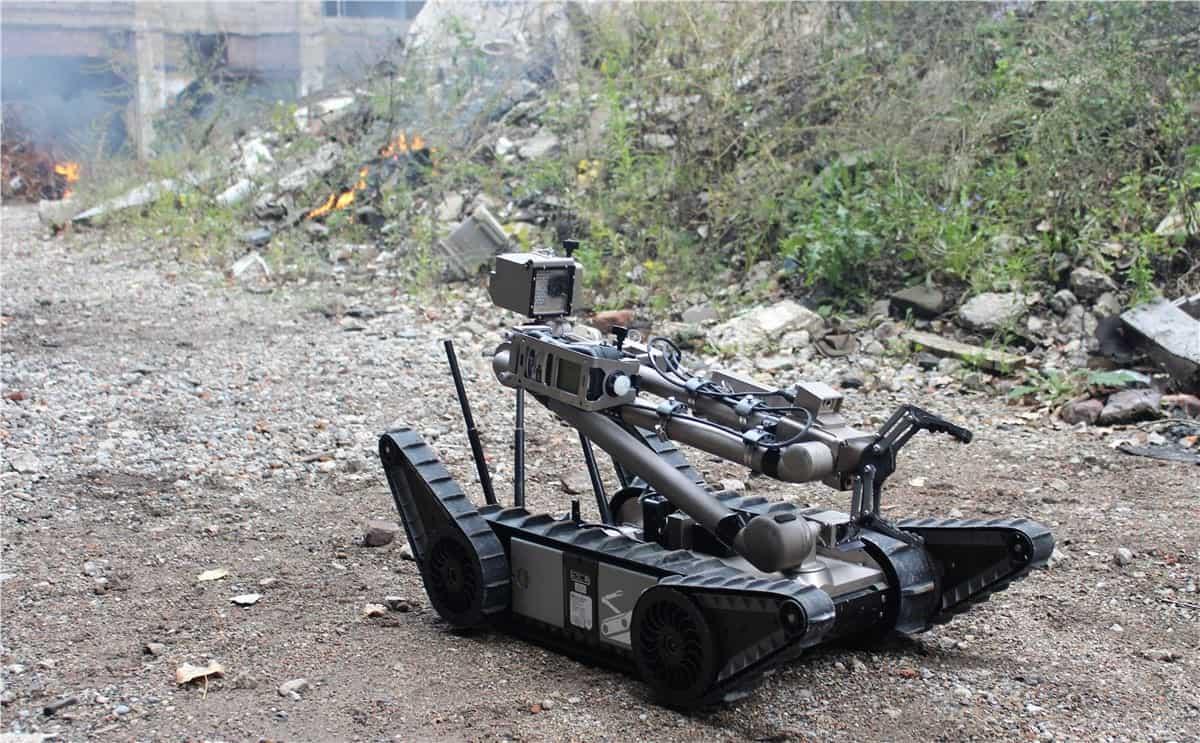 Endeavor Robotics unmanned ground vehicle