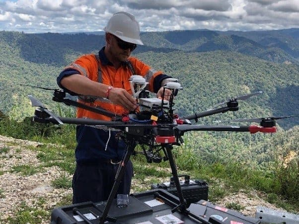 Insitu UAS in Papua New Guinea