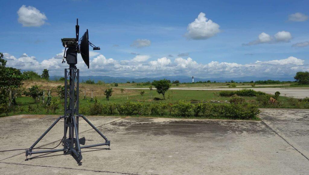 Integrated UAV Data Link