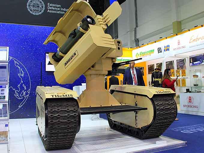 Milrem Anti-Tank UGV